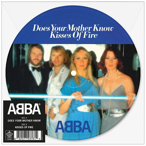 "ABBA Does Your Mother Know (Picture Disc) 7"" Released 14/06/19"