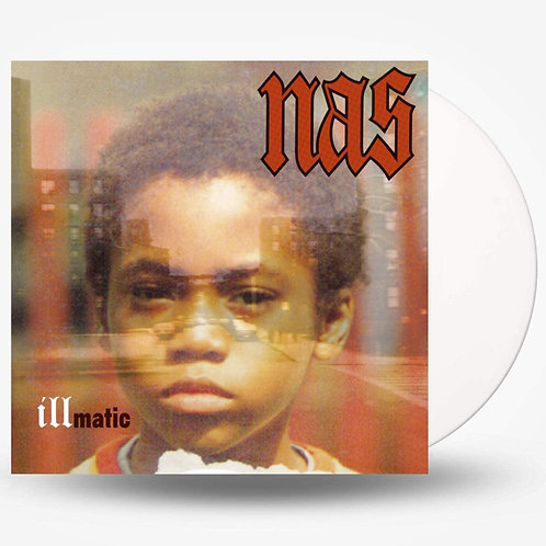 Nas - Illmatic Clear Vinyl LP Released 12/03/21