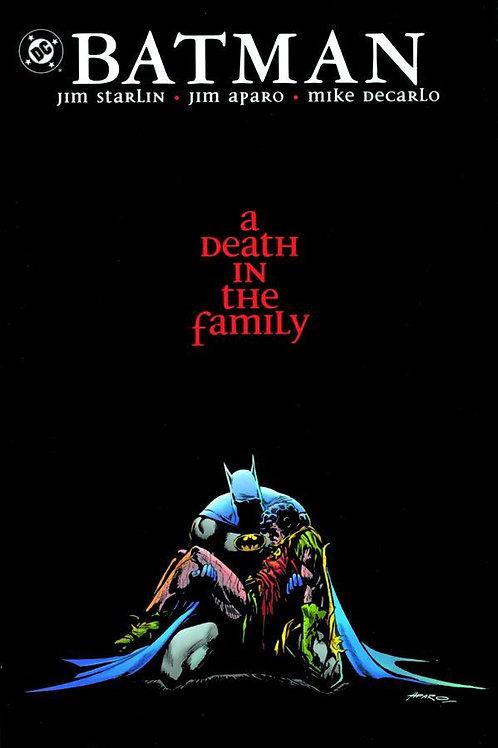 "BATMAN "" A DEATH IN THE FAMILY"""