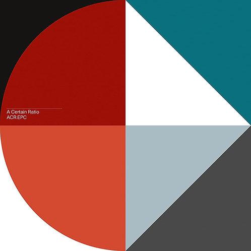 "A Certain Ratio ACR:EPC EP - Blue Vinyl 12"" Released 02/07/21"