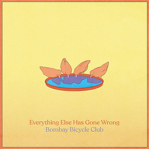 Bombay Bicycle Club - Everything Else Has Gone Wrong CD Released 17/01/20