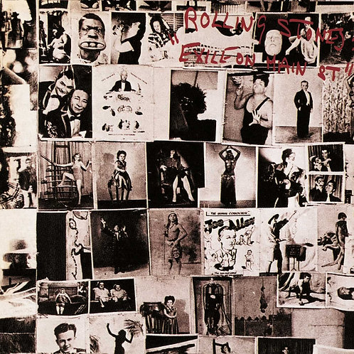 The Rolling Stones - Exile On Main St. LP