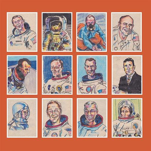 Darren Hayman - 12 Astronauts LP Released 06/09/19