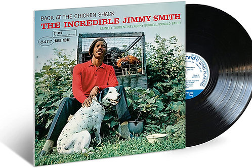 Jimmy Smith - Back At The Chicken Shack Vinyl LP Released 25/06/21
