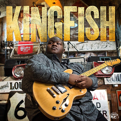 Christone 'Kingfish' Ingram - Kingfish LP Released 30/08/19
