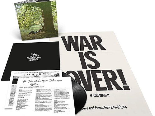 John Lennon - Plastic Ono Band (The Ultimate Mixes) Double LP Released 23/04/21