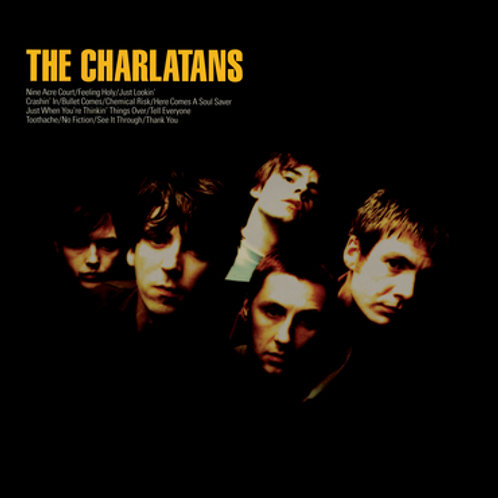 The Charlatans - The Charlatans - Coloured Vinyl LP Released 08/10/21