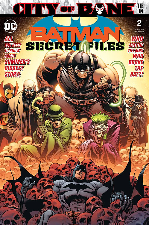 BATMAN SECRET FILES #2