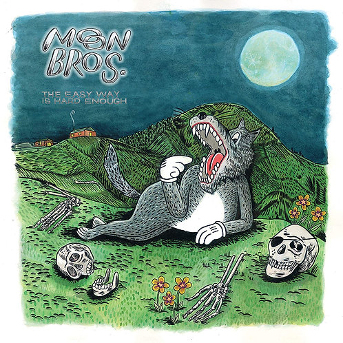 Moon Bros - The Easy Way Is Hard Enough LP Released 23/08/19