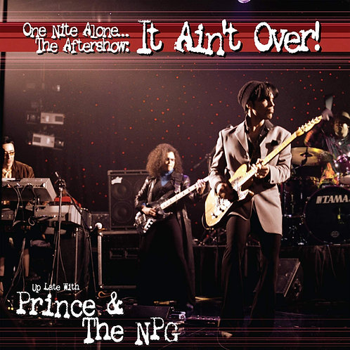 Prince - One Nite Alone... The Aftershow: It Ain't Over LP Released 29/05/20