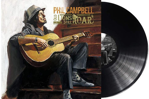 Phil Campbell - Old Lions Still Roar LP Released 25/10/19