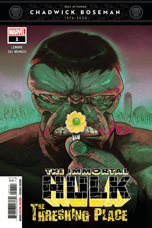 IMMORTAL HULK THRESHING PLACE #1.ONE SHOT