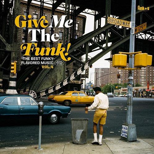 Various - Give Me The Funk! Vol. 4 - Vinyl LP Released 08/10/21