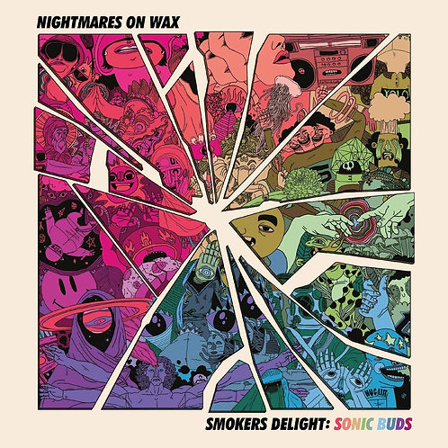 "Nightmares On Wax - Smokers Delight: Sonic Buds 12"" Released 02/10/20"