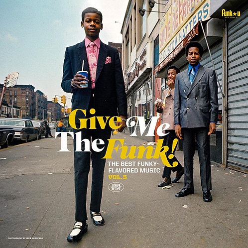 Various - Give Me The Funk! Vol. 5 - Vinyl LP Released 08/10/21