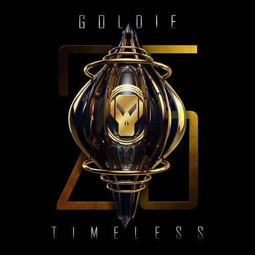 Goldie - Timeless (25th Anniversary Edition) Triple Gold Vinyl Released 16/04/21