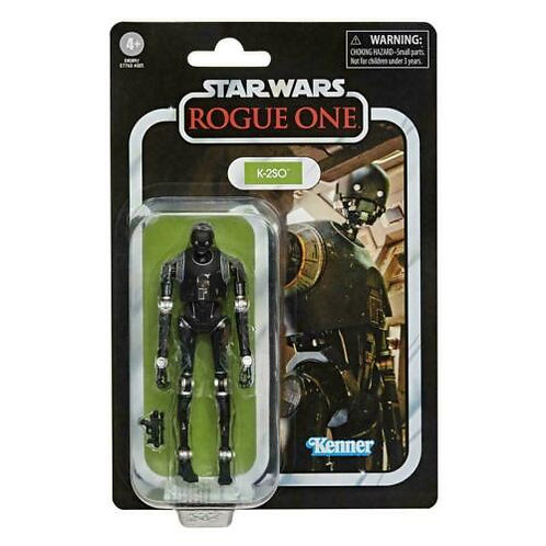 """STAR WARS THE VINTAGE COLLECTION K-2SO (ROGUE ONE) 3.75"""" ACTION FIGURE"""