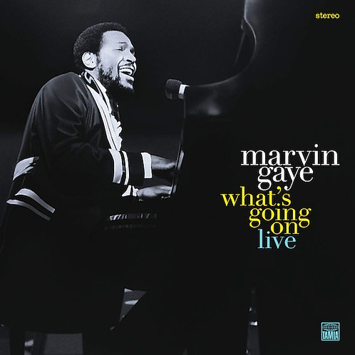 Marvin Gaye - What's Going On Live CD Released 18/10/19