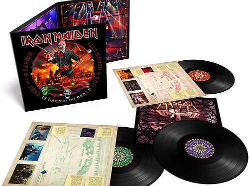 Iron Maiden - Nights Of The Dead - Legacy Of The Beast: Live In Mexico City LP