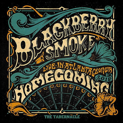 Blackberry Smoke - Homecoming - Live in Atlanta CD Released 06/12/19