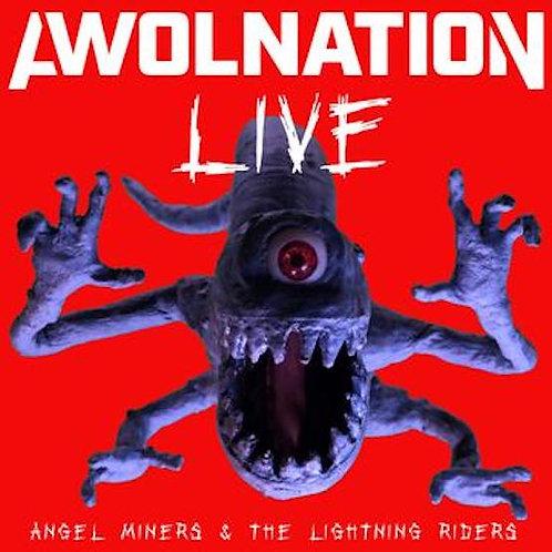 Awolnation - Angel Miners & The Lightning Riders - Live - Red/Purple Splatter LP