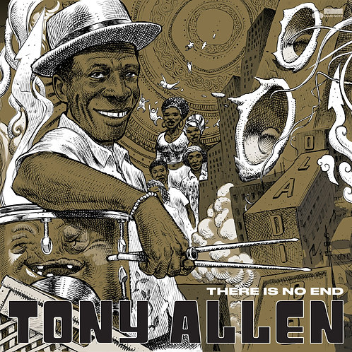 Tony Allen - There Is No End Alternate Sleeve Vinyl LP Released 30/04/21