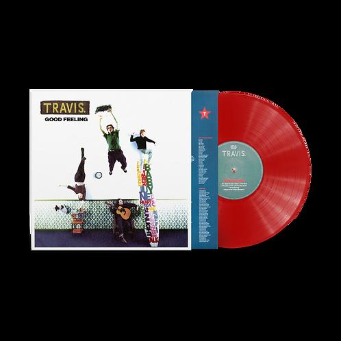 Travis - Good Feeling Red Vinyl LP Released 02/04/21