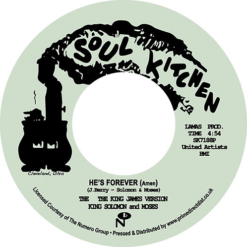 The King James Version - He's Forever (Amen) 7""