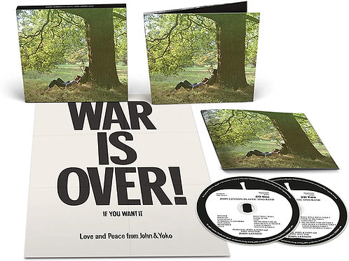John Lennon - Plastic Ono Band (The Ultimate Mixes) Double CD Released 23/04/21