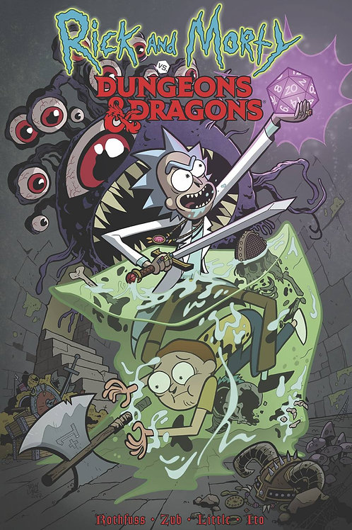 RICK&MORTY VS DUNGEONS &DRAGONS TP