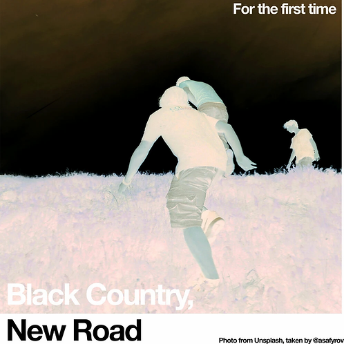 Black Country, New Road - For The First Time - White Vinyl LP