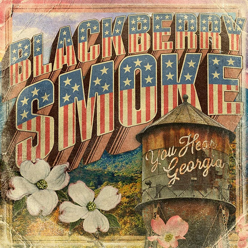 Blackberry Smoke - You Hear Georgia - Yellow/Red Marbled LP Released 28/05/21