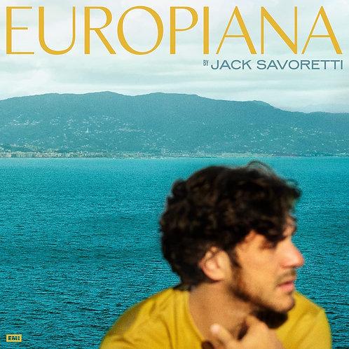 Jack Savoretti - Europiana Yellow Vinyl LP Released 25/06/21