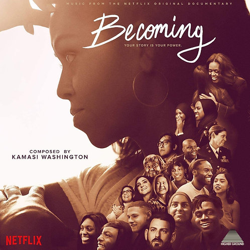 Kamasi Washington - Becoming - Original Soundtrack CD Released 11/12/20