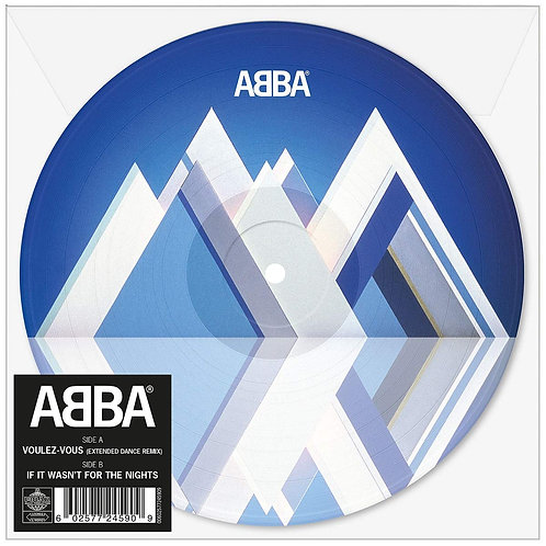 """ABBA Voulez-Vous Extended Dance Mix (Picture Disc) 7"""" Released 14/06/19"""