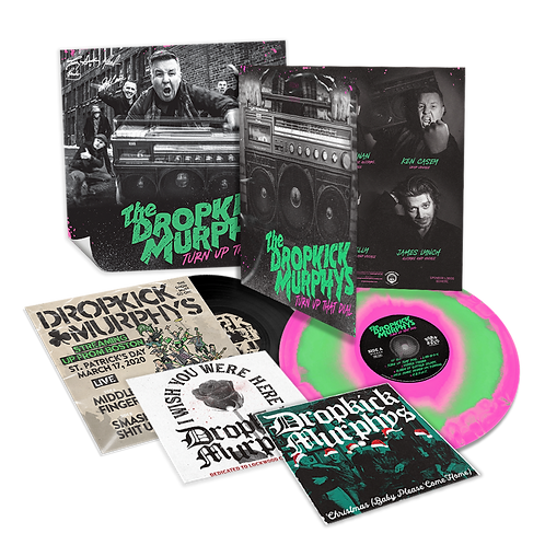 The Dropkick Murphys - Turn Up That Dial Deluxe Vinyl LP Released 30/04/21