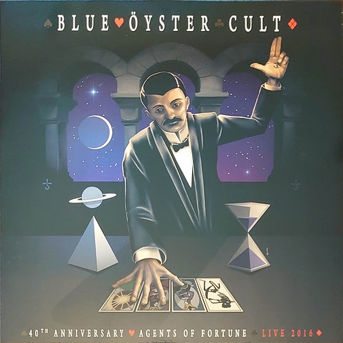 Blue Oyster Cult - Agents Of Fortune 40th Anniversary Live 2016 LP