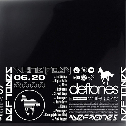 Deftones - White Pony 20th Anniversary Deluxe Edition Released 16/04/21
