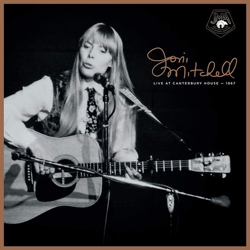 Joni Mitchell - Live At Canterbury House, 1967 LP Released 30/10/20