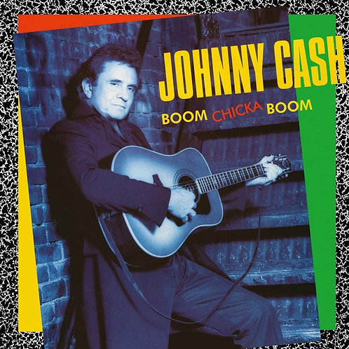 Johnny Cash - Boom Chicka Boom LP Released 26/06/20