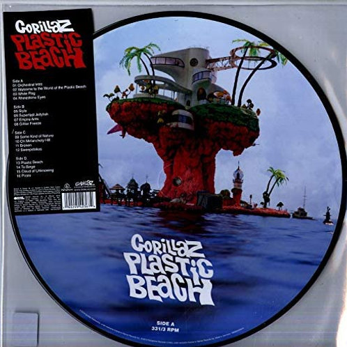 Gorillaz - Plastic Beach Picture Disc LP