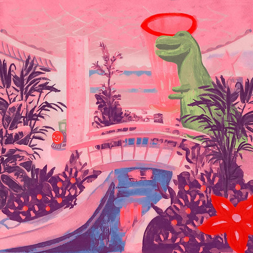 Jerkcurb - Air Con Eden LP Released 13/09/19