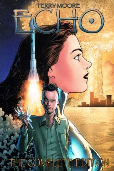 """TERRY MOORE """" ECHO"""" THE COMPLETE EDITION"""