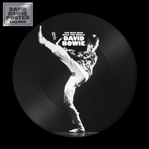 David Bowie - The Man Who Sold The World - Picture Disc LP Released 28/05/21
