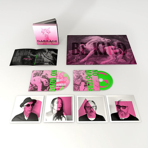 Garbage - No Gods No Masters - Deluxe CD Released 11/06/21
