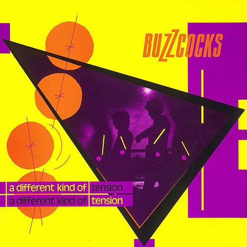 Buzzcocks - A Different Kind Of Tension LP Released 14/06/19