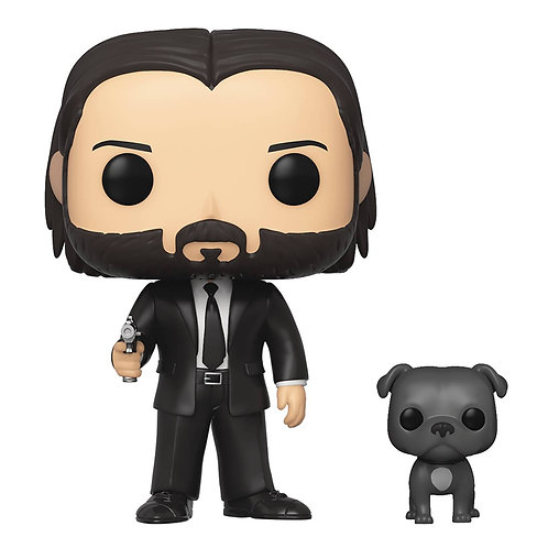 POP MOVIES JOHN WICK W/DOG
