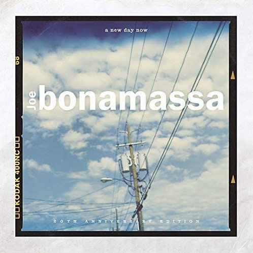 Joe Bonamassa - A New Day Now - 20th Anniversary Edition CD Released 07/08/20