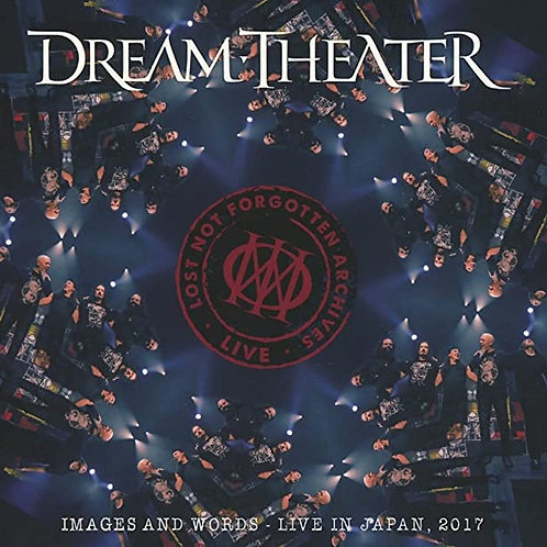 Dream Theater - Images And Words: Live In Japan, 2017 Vinyl LP Released 25/06/