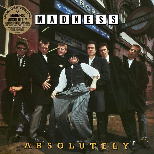 Madness - Absolutely 40th Anniversary LP Releases 27/11/20